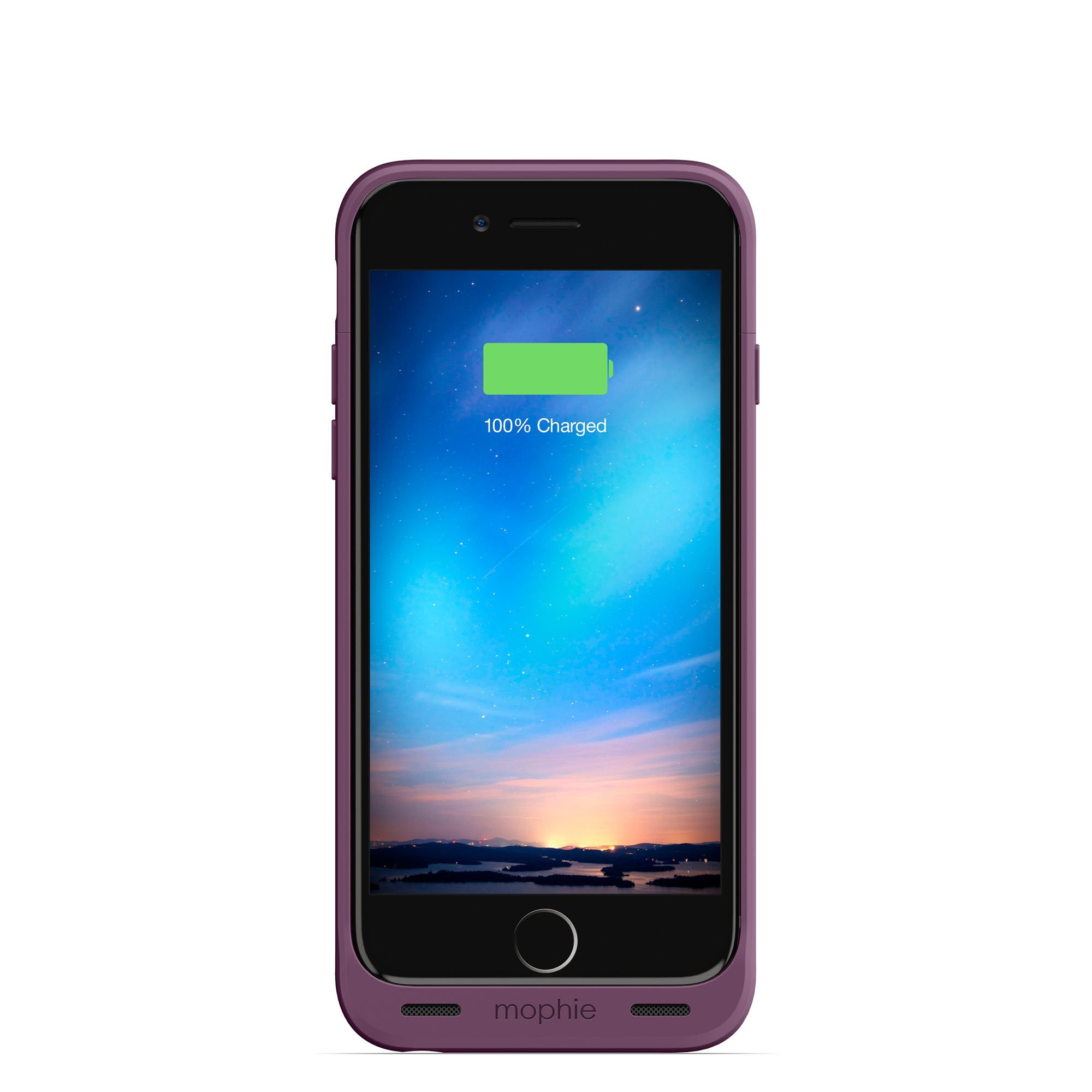 mophie Juice Pack Reserve - Lightweight and Compact Mobile Protective Battery Case for iPhone 6/6s - Purple