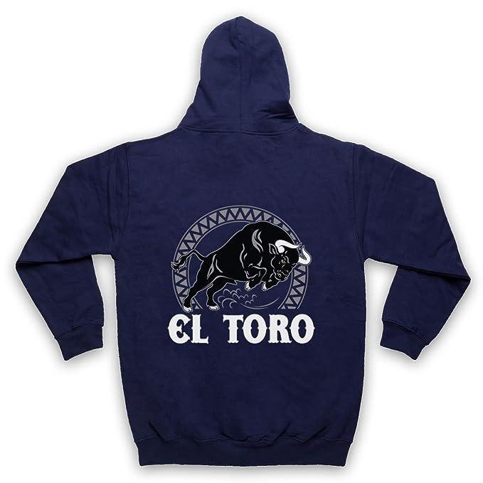 My Icon Art & Clothing El Toro Spanish Bull Adultos Sudadera con Capucha con Cremallera: Amazon.es: Ropa y accesorios