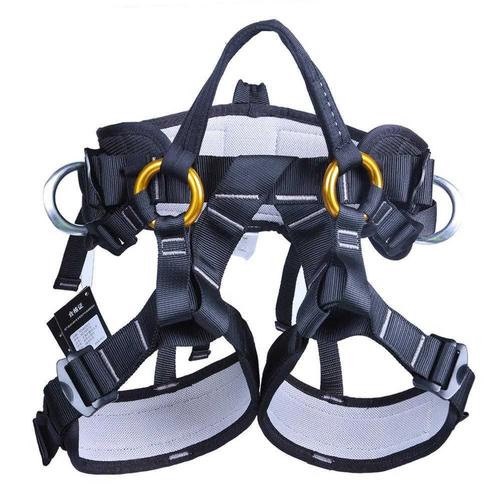 Outdoor Rock Climbing Harness Half-Length Rescue seat Belt Rappelling high-Altitude seat Belt