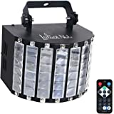 LaluceNatz DJ Lights with 27-watts 9 MultiColors LED Wide Beam by IR Remote and DMX Control for Party Stage Lighting (Metal Casing)