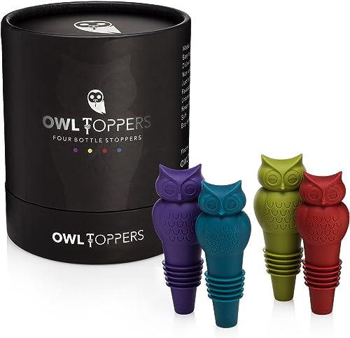 Owltopper's-Bottle-Stoppers-4-Pack