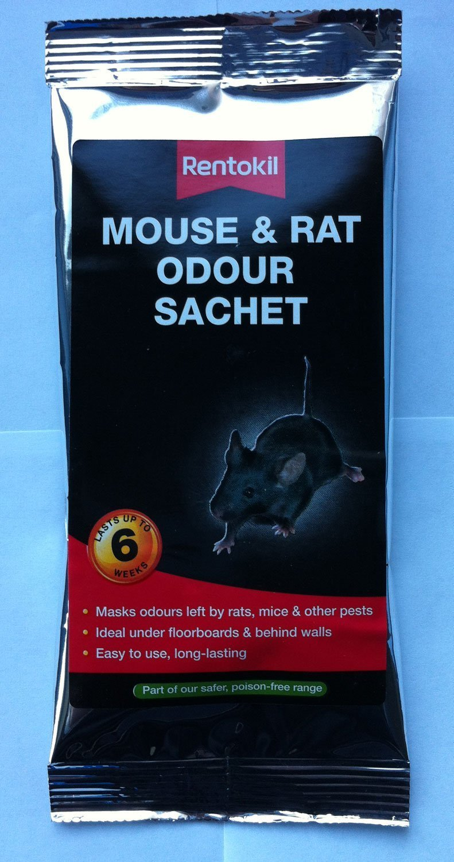 2 x Rentokil rat/ón y rata olores fosas s/épticas