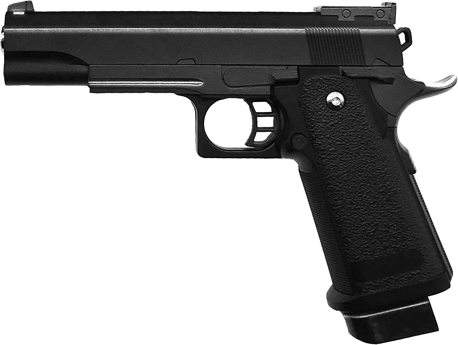 Rayline Airsoft Pistola Softair G6 Metal Completo (presión de Resorte Manual), Escala 1: 1, Peso 528 g, Longitud 22 cm, (Menos de 0,5 Julios - a Partir de 14 años)
