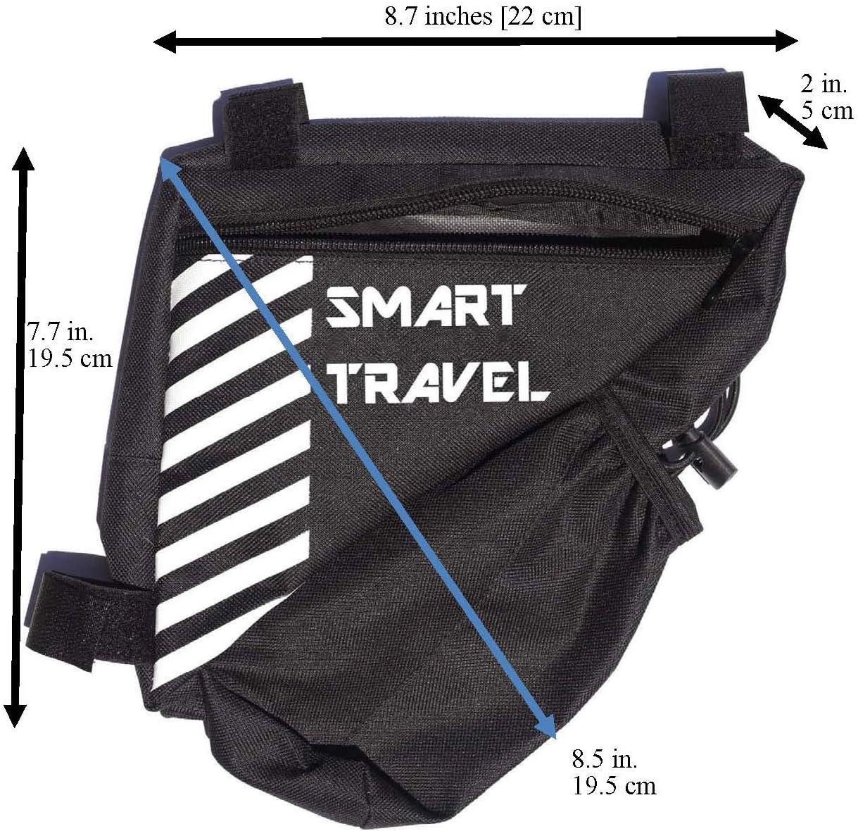 Smart Travel Bicycle Storage Bag Black Bike Water Bottle Holder Phone Holder for Bike Bike Accessories