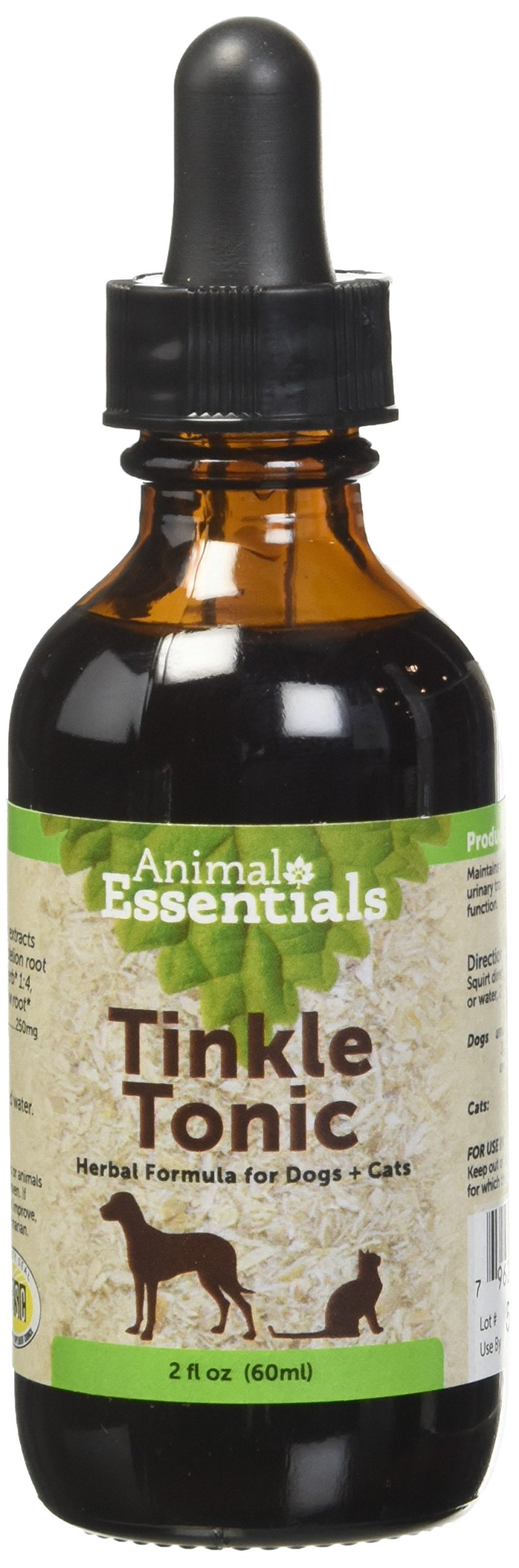 Animal Essential APAWTHECARY TINKLE TONIC (Urinary Tract) Dog Cat 2 ounce by Animal Essentials (Image #1)