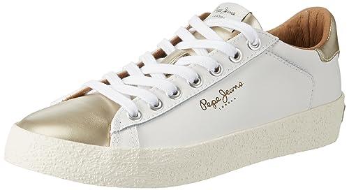 Pepe Jeans London - Scarpe da Ginnastica Basse Donna, Oro (Gold), 41 (EU)