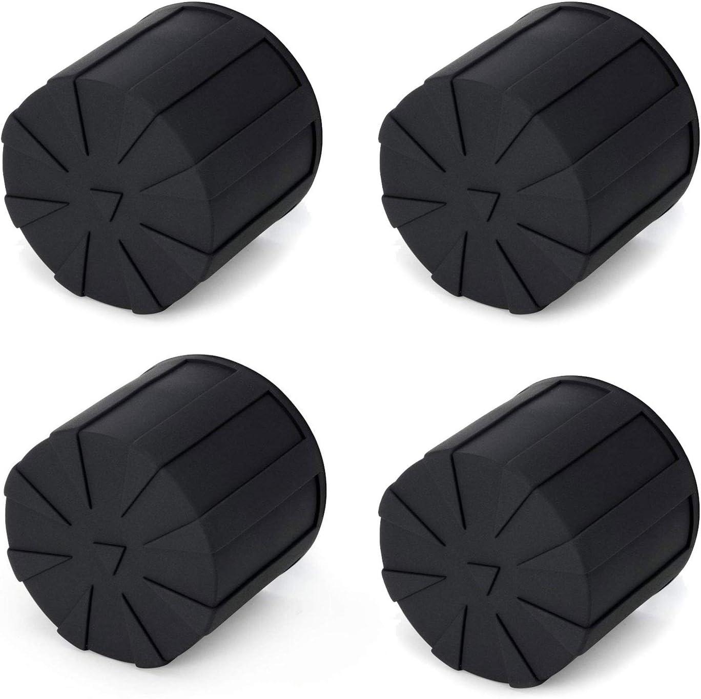 Digislider Silicone Universal Lens Cap - Fits Over 99% of Lenses, Scratch Proof, Waterproof, Dustproof, Shock-Absorbent, Lens Cover for 60-100mm Lenses (4-Pack)