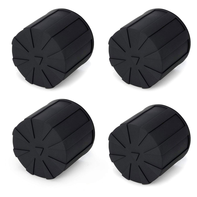 Digislider Silicone Universal Lens Cap - Fits Over 99% of Lenses, Scratch Proof, Waterproof, Dustproof, Shock-Absorbent, Lens Cover for 60-110mm Lenses (4 Pack)