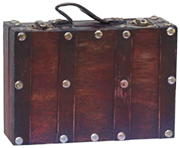Vintiquewise Antik Stil Koffer/Deko-Box, klein/Mini, Cherry: Amazon ...
