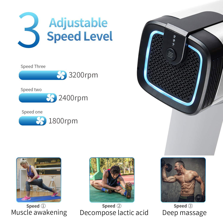 Amazon.com: Youlisn - Pistola de masaje muscular, masajeador ...