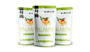 Palmini Low Carb Linguine   4g of Carbs   As Seen On Shark Tank   (12 Ounce - Pack of 3)