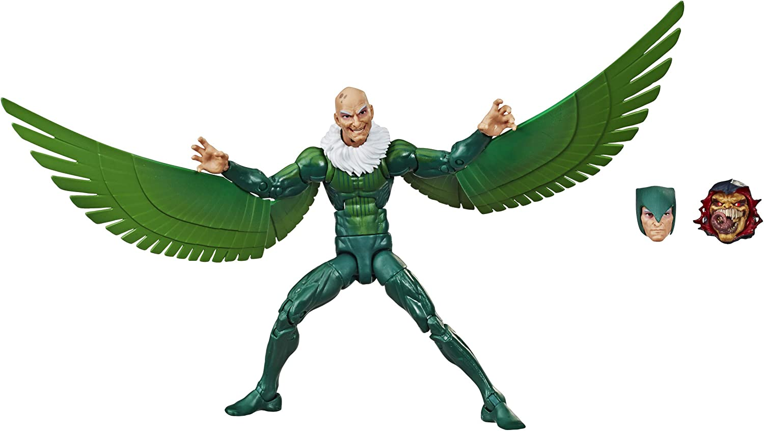 """Spider-Man Hasbro Marvel Legends Series 6"""" Collectible Action Figure Marvel's Vulture Toy, with Build-A-Figurepiece & Accessory"""