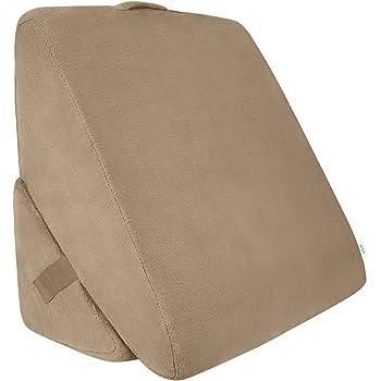 Amazon.com: Xtra-Comfort Bed Wedge Pillow - Folding Memory Foam ...