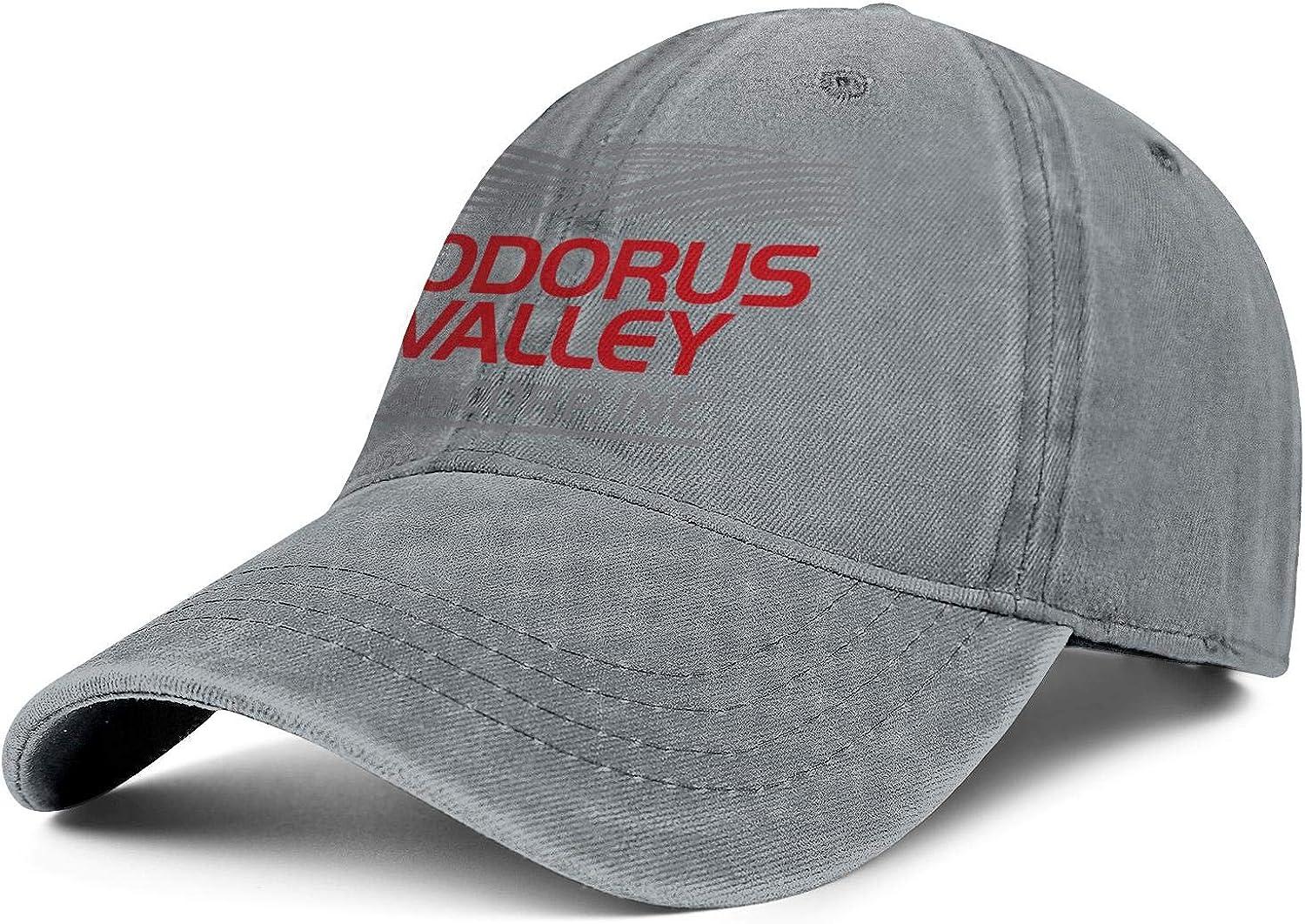 Mens Womens Hat Codorus Valley Logo Snapback Hats Designer Denim Cap Fit Caps
