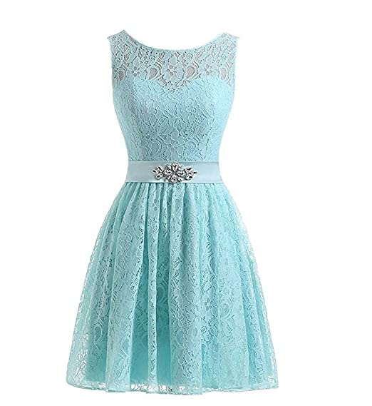 KekeHouse Ball Gown Prom Dress Mother and Daughter Short Lace Flower Girl Dresses Bridesmaid Dress Evening