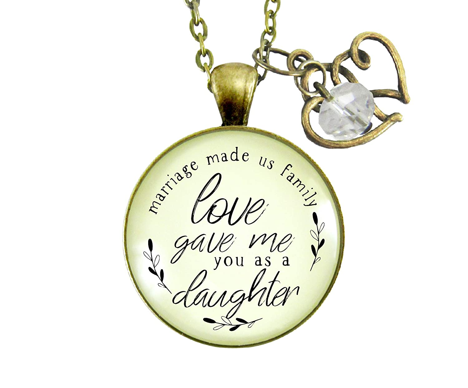 Amazon Com Gutsy Goodness 24 Bonus Daughter In Law Necklace
