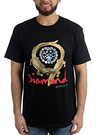 Amazon Diamond Supply Co Mens Alligator T Shirt Clothing