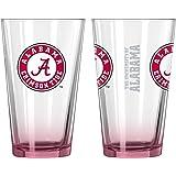 NCAA Elite Pint Glass, 16-ounce, 2-Pack