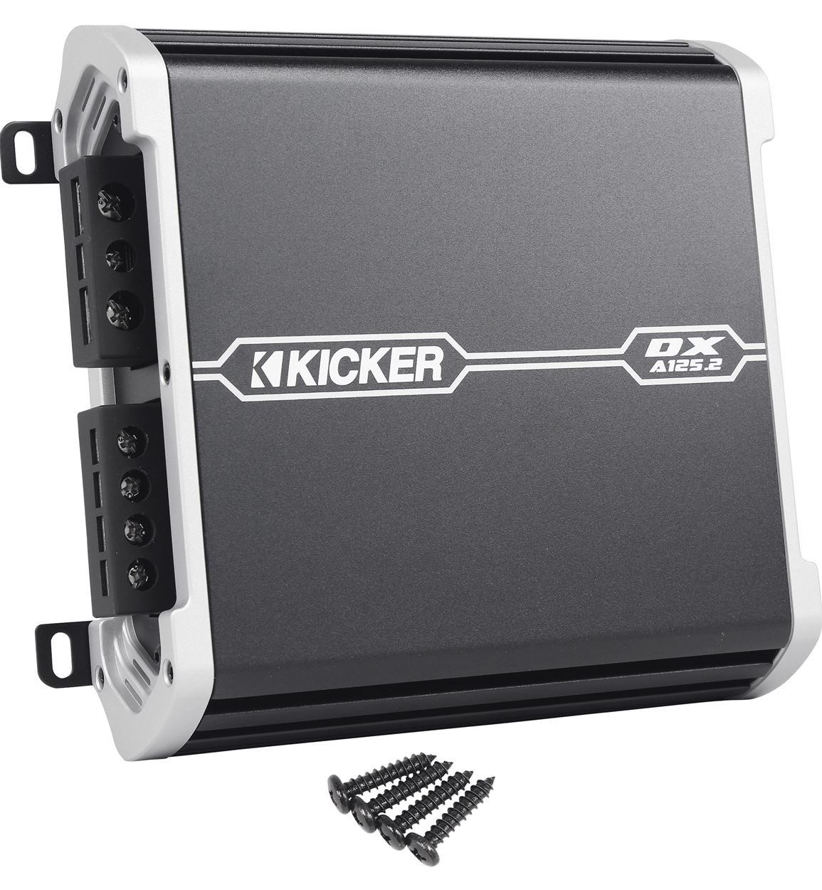 Amazon.com: Kicker DXA125.2 (41DXA1252) 125 Watt RMS 2 Channel Car Audio Amplifier + Amp Kit: Cell Phones & Accessories