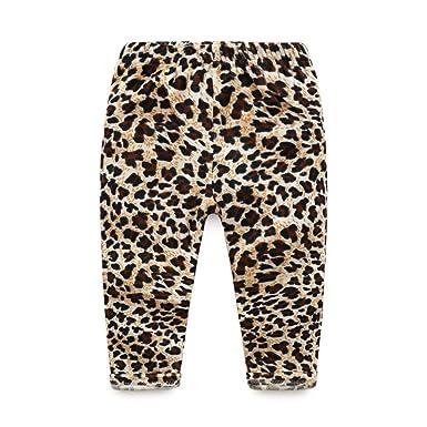 0800e4cbb IGEMY Toddlers Infants Baby Kid Girls Leopard Leggings Trousers Long ...