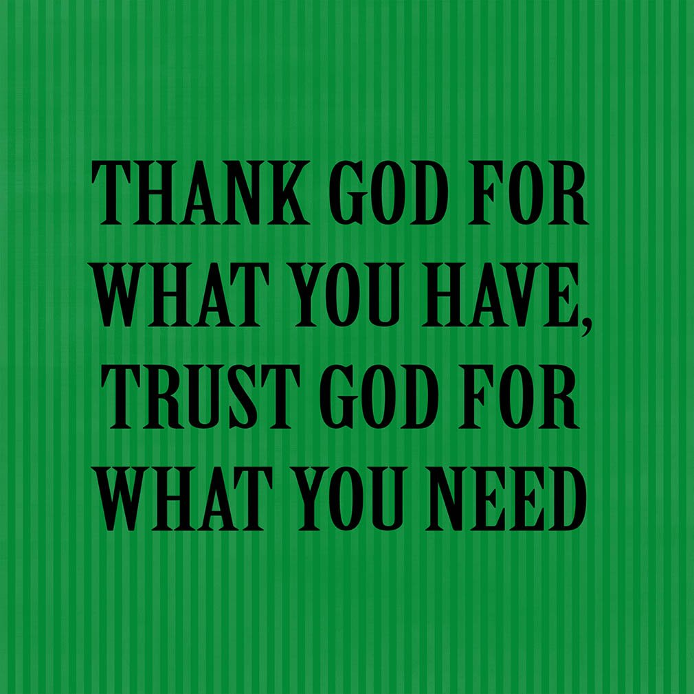 Amazoncom Thank God For What You Have Trust God Fo Funny
