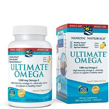 Image result for Omega-3 supplement: Nordic Naturals Ultimate Omega