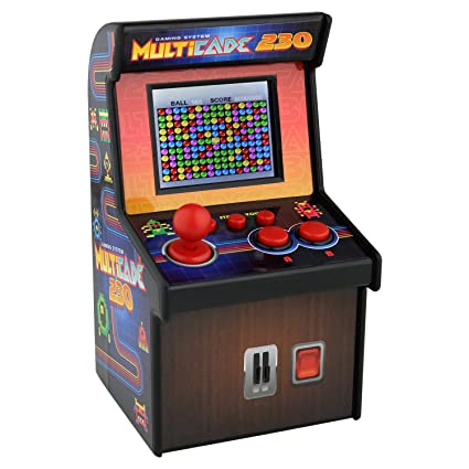 c892e773132f Amazon.com  Sound Logic XT Multicade 230 Miniature Retro Arcade Video Game  Machine  Toys   Games