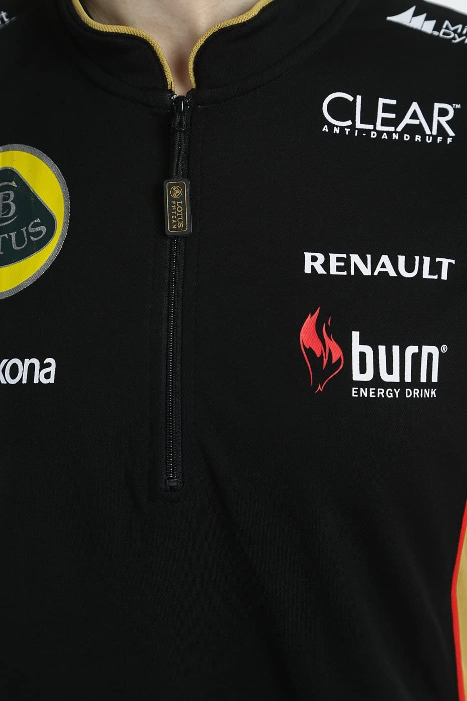 Lotus F1 Team patrocinadores Ladies 2013 Burn cremallera Polo ...