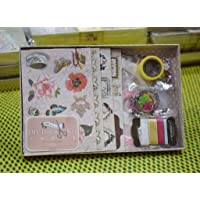 AsianHobbyCrafts Book Kit by Eno Greeting (SCD003): Contents Chipboard Sheet, Pattern paper