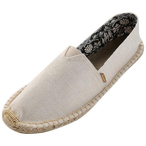 Kentti Alpargatas Hecho a Mano In Chambray Para Hombre: Amazon.es: Zapatos y complementos