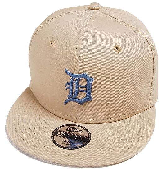 97702574b90 Image Unavailable. Image not available for. Colour  New Era Detroit Tigers League  Essential Khaki 9fifty 950 Child Snapback Cap ...