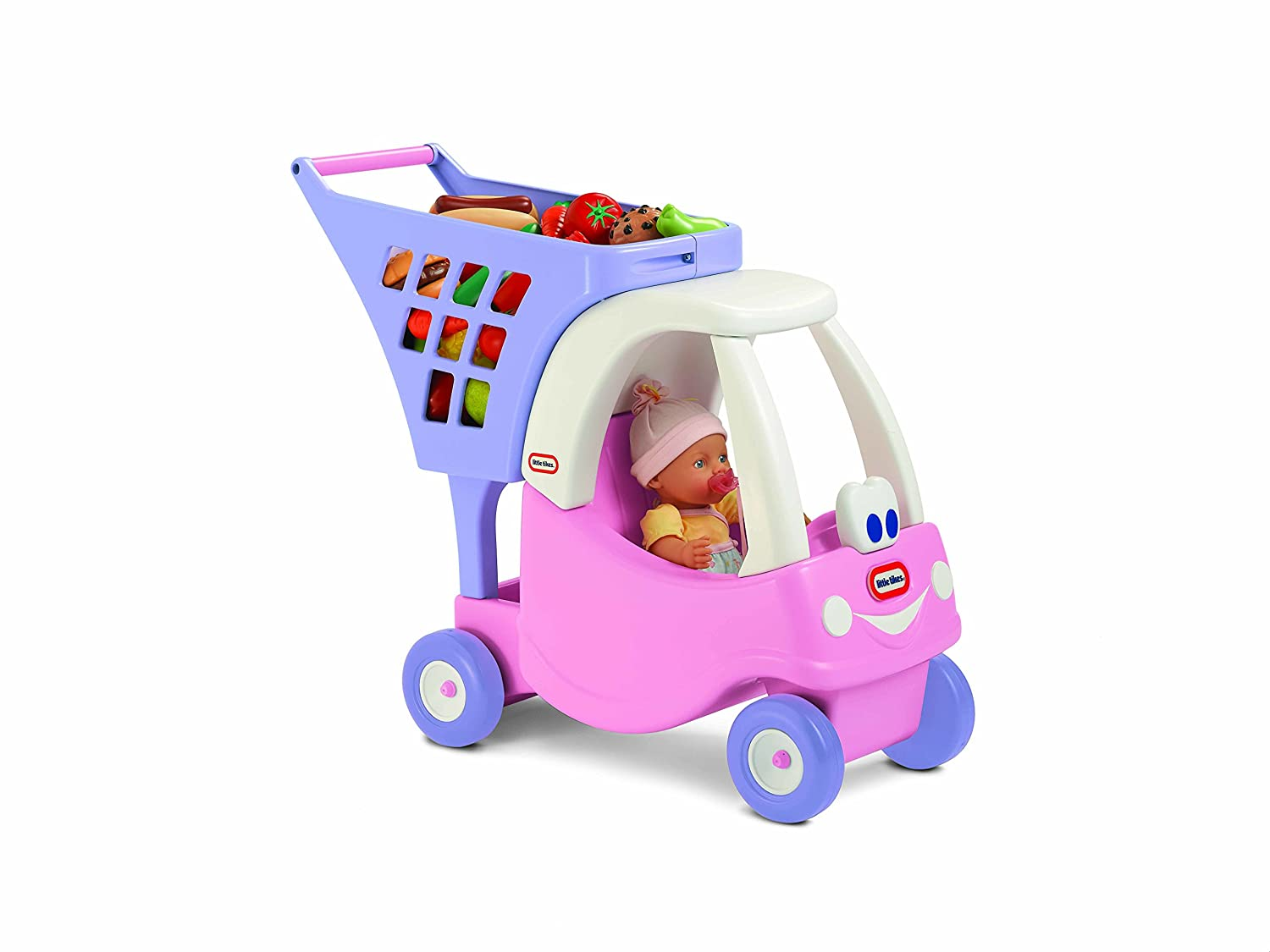 Little Tikes Pink Cozy Shopping Cart: Little Tikes: Amazon.co.uk ...