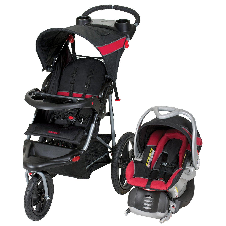 Amazon Baby Trend Range Travel System Folding Jogging Stroller Centennial TJ Baby