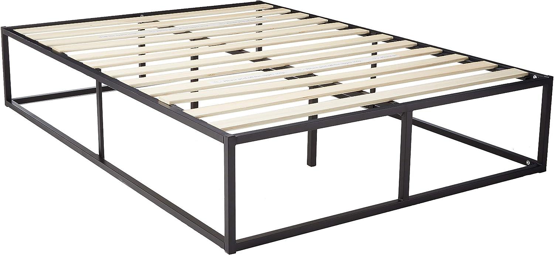 Zinus Joesph Modern Studio 14 Inch Platforma Bed Frame Mattress Foundation with Wood Slat Support, Full Renewed