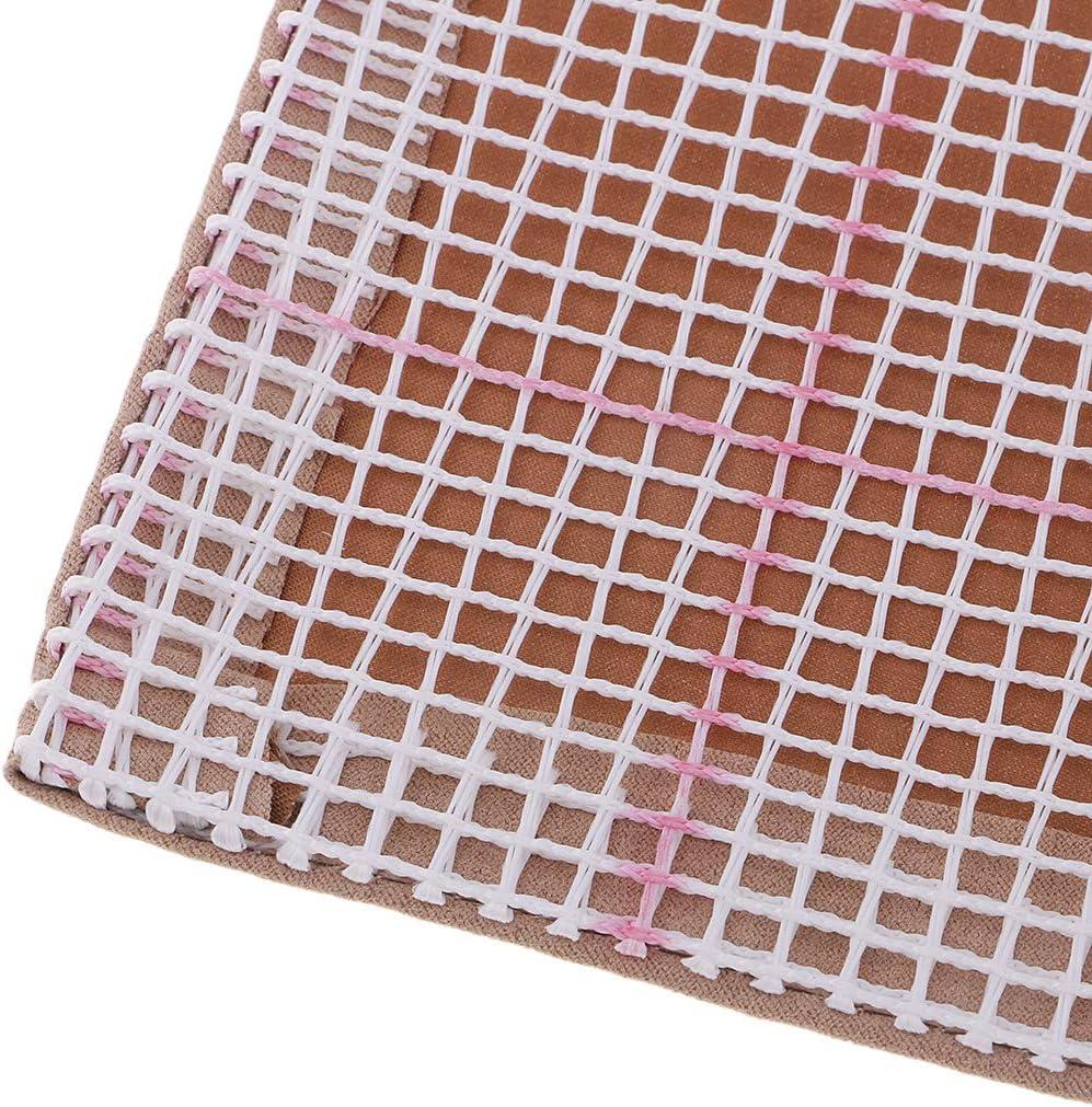 LoveinDIY DIY Giraffe Cushion Carpet Mat Latch Hook Rug Kits Cover Hand Craft Embroidery Pillowcase Crocheting Handmade Needlepoint for Baby Kids Parents Gift