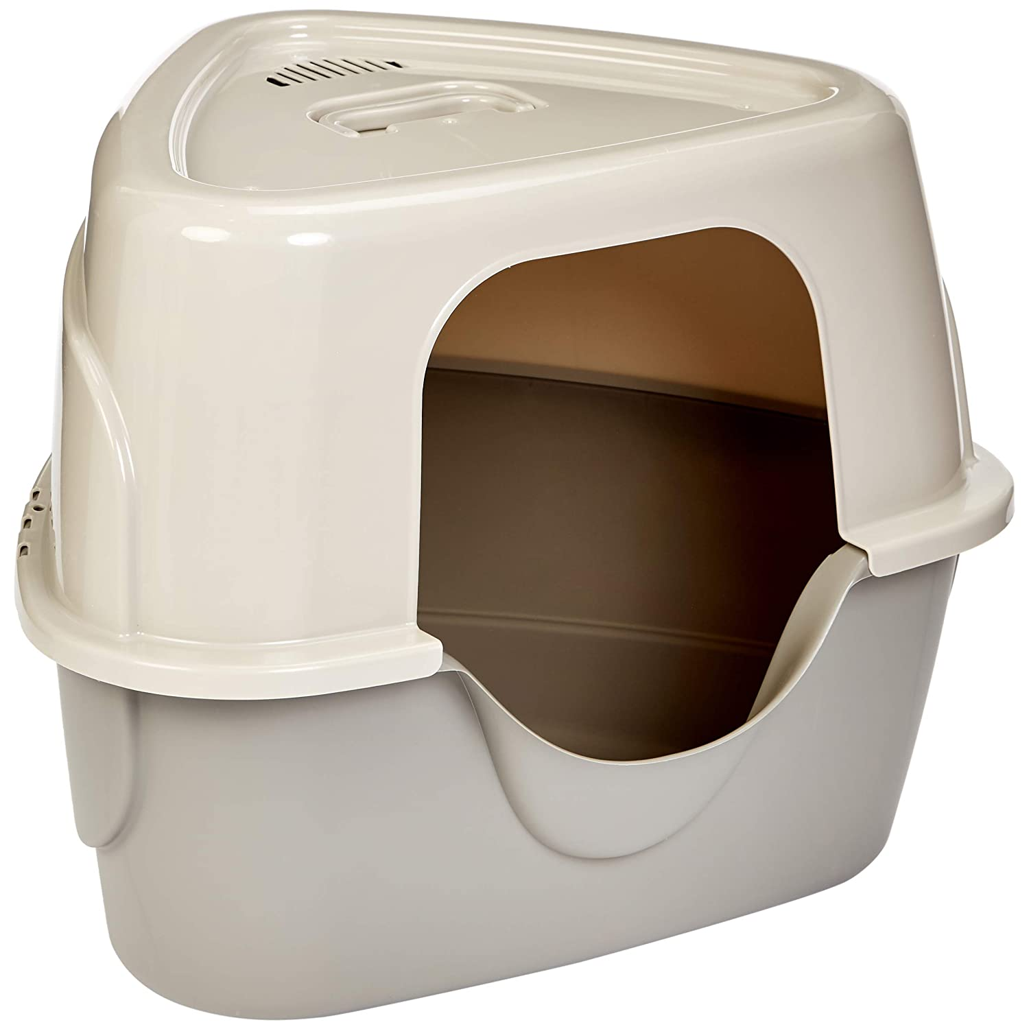 AmazonBasics Hooded Cat Litter Box