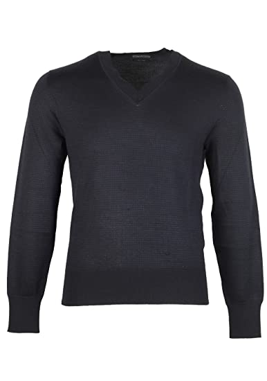 CL - Tom Ford Blue V Neck Sweater Size 48 38R U.S. In Silk Cashmere ... 13bc11495b796