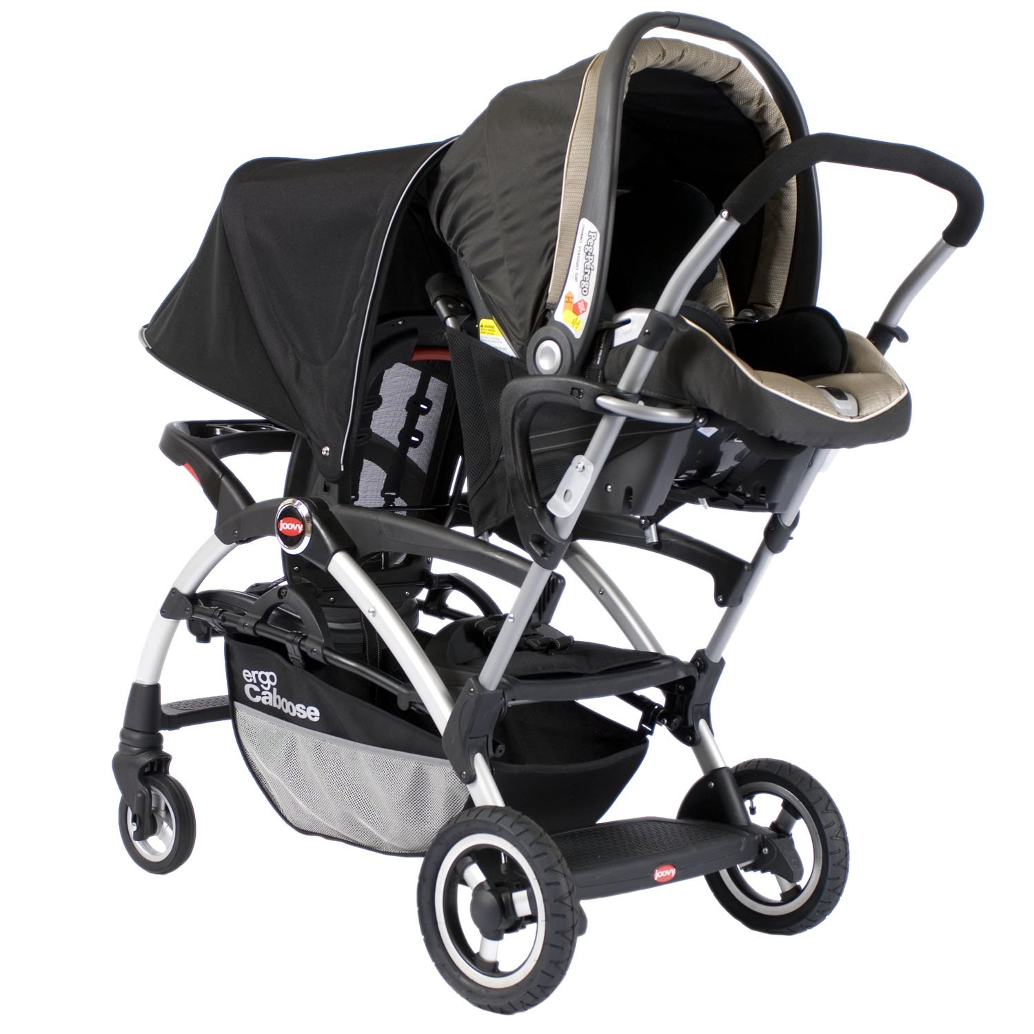 Amazon Joovy Ergo Caboose Tandem Stroller Black Discontinued by Manufacturer Baby