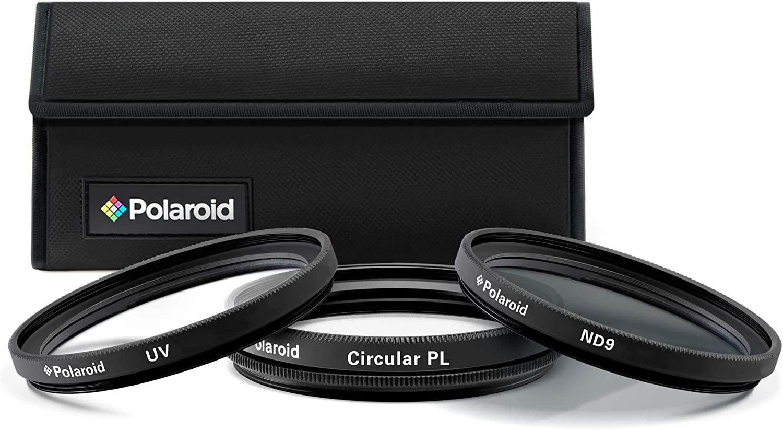 Polaroid 3-Picece Camera Lens Filter Kit Camera Filter Kit 62mm: Amazon.es: Electrónica