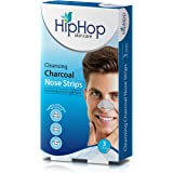 HipHop Charcoal Nose Strips, Men - Blackhead Remover (Pack of 2)