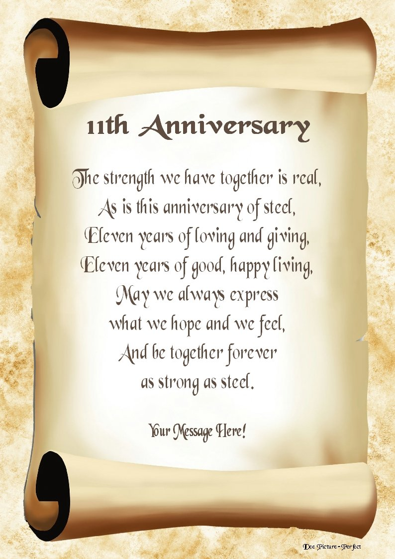 happy 11th month anniversary poems