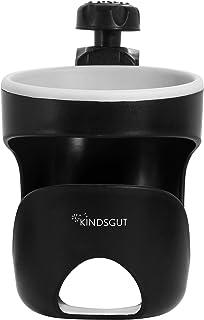 Kindsgut - Portabiberones para carritos de bebé (apto para vasos y latas de refrescos)