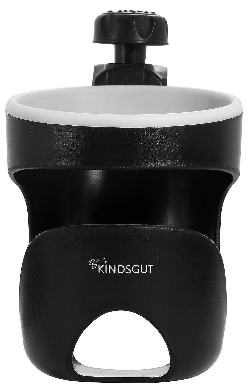 Kindsgut Portabotellas universal, Portavasos para Carritos y Buggy apto para botellas de niños pequeños