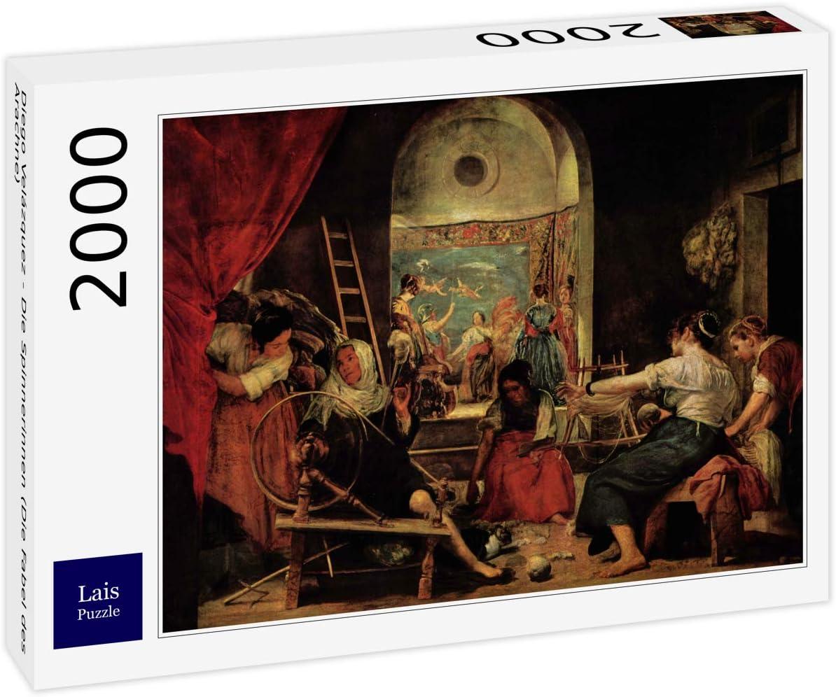 Lais Puzzle Diego Velázquez - Los Hilanderos (La Fábula de Aracne) 2000 Piezas: Amazon.es: Juguetes y juegos