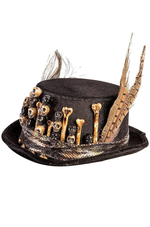 Voodoo Top Hat Black
