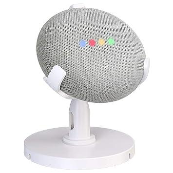 Soporte de mesa para Google Home Mini Asistentes de voz, soporte ...