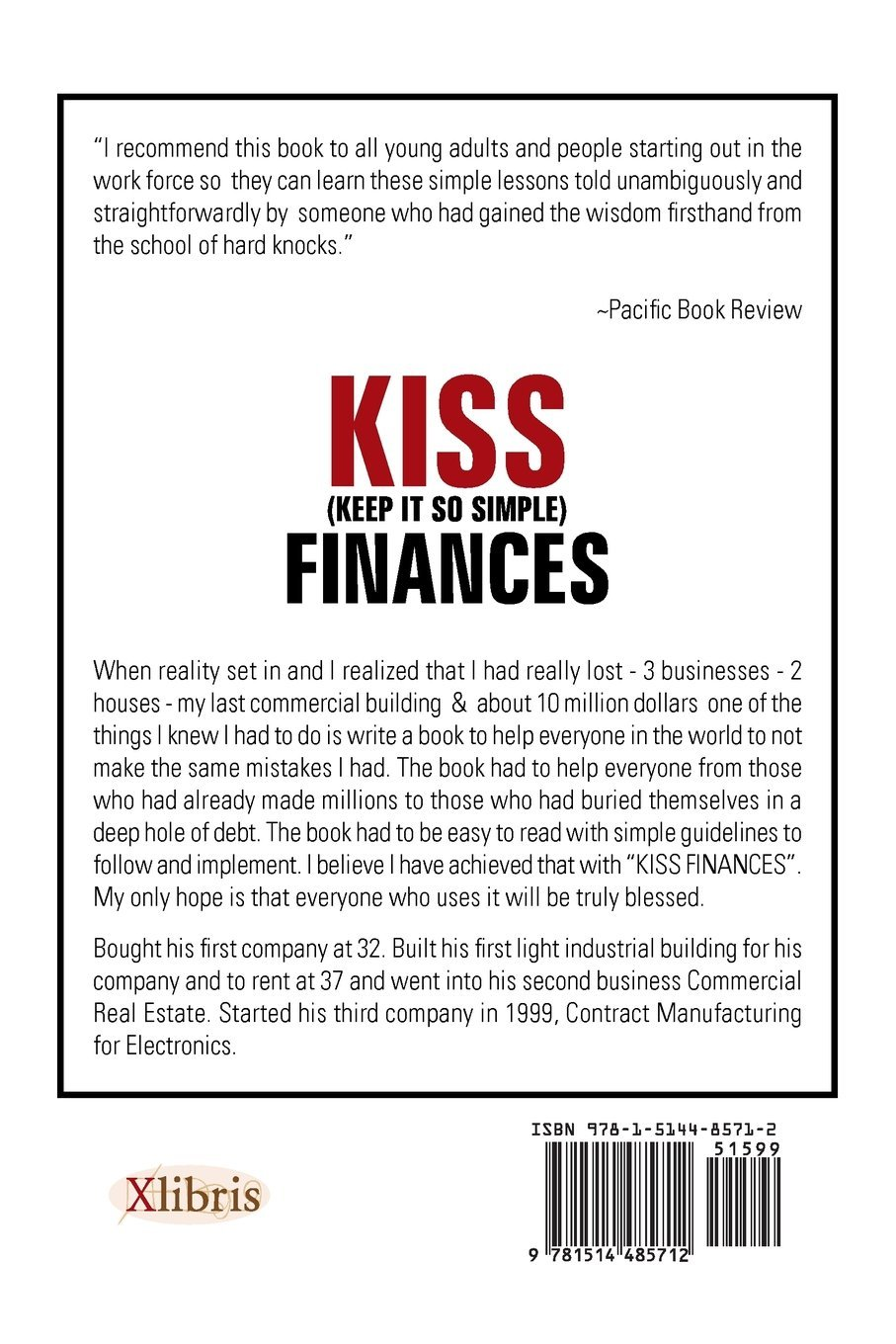 Kiss (keep It So Simple) Finances: Fred Green: 9781514485712: Amazon:  Books
