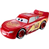 Disney Cars Toys Disney and Pixar Cars Ultimate Lights & Sounds Lightning McQueen 8-inches Talking Toy, Multi
