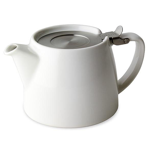 For Life White Stump teapot