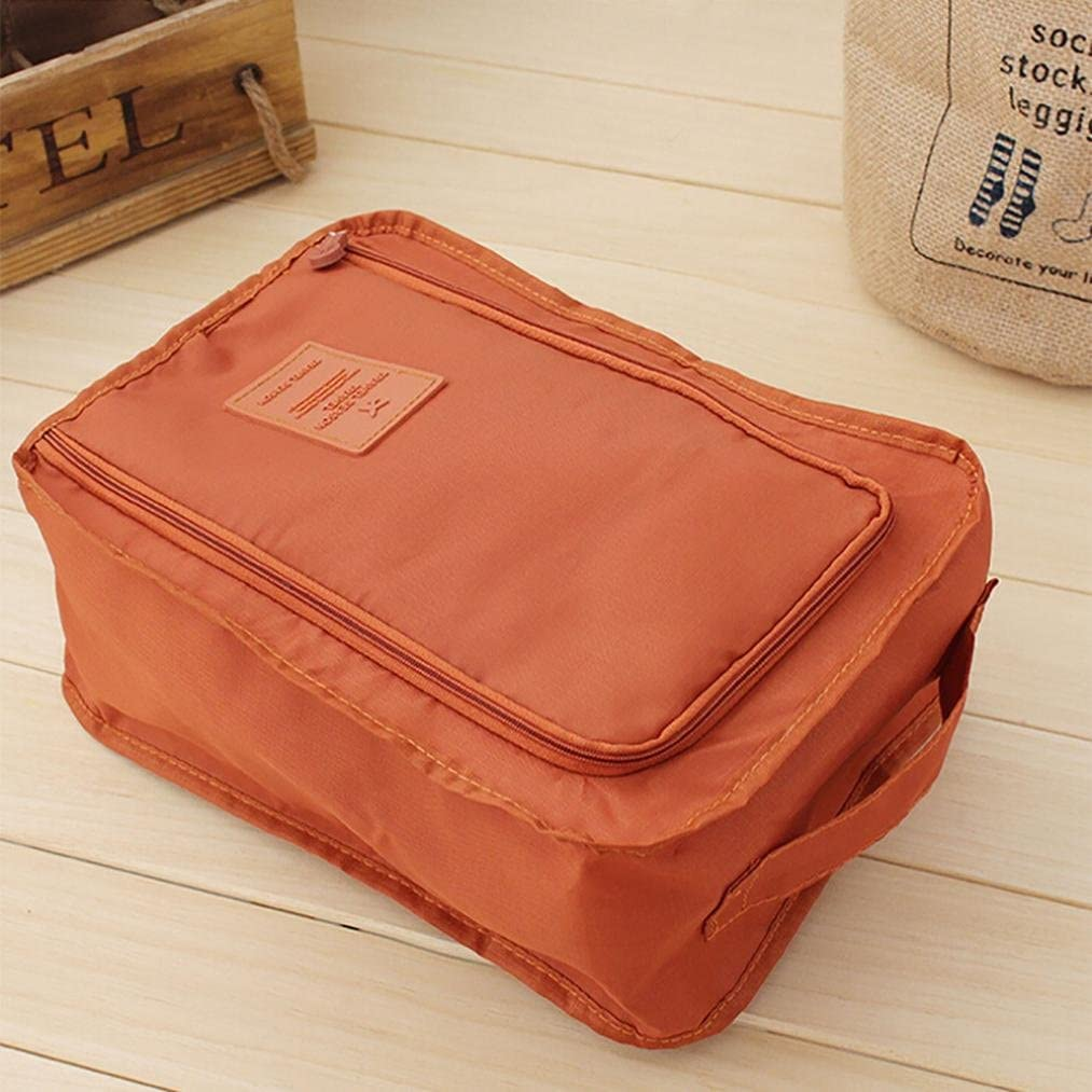 Wine Red Loneflash Travel Shoe Bags,Portable Travel Dust-proof Waterproof Shoe Organizer Space Saving Storage Bags with Zipper